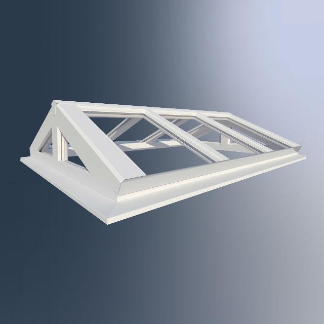 Lichtstraten in PVC